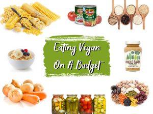 eating vegan on a budget