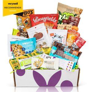 vegan snacks package